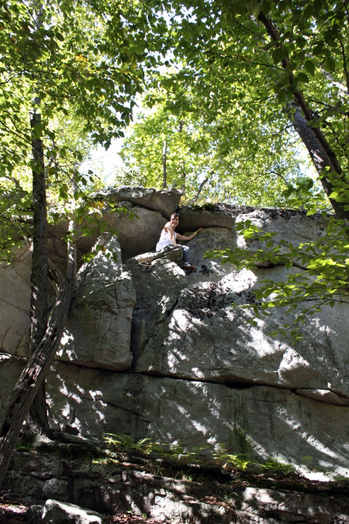 We got to do some challenging scrambling