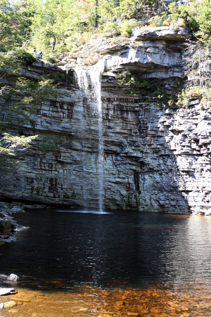 This is the waterfall as seen from the bottom. We picniced on the top.