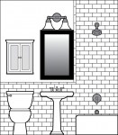 bathroom CAD