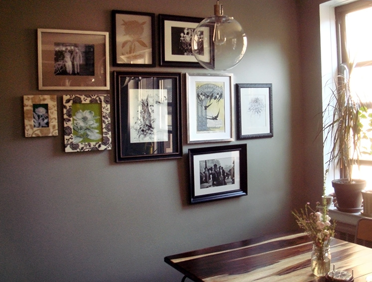 Picture Frame Accent Wall « Joe & Cheryl