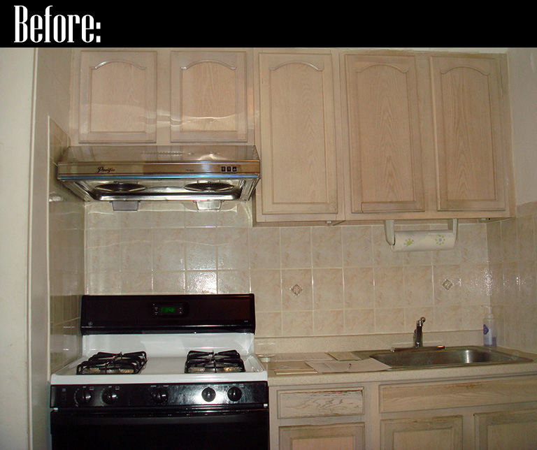 DIY Kitchen Before And After « Joe & Cheryl