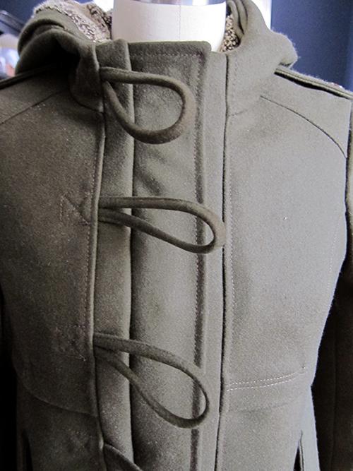 Winter Coat Progress Part 4 - Finished! - >> joeandcheryl.com <<
