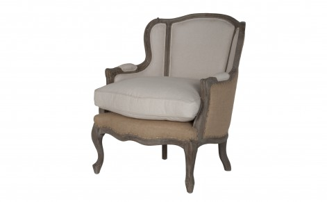 Our New French Bergère Chair - >> joeandcheryl.com <<