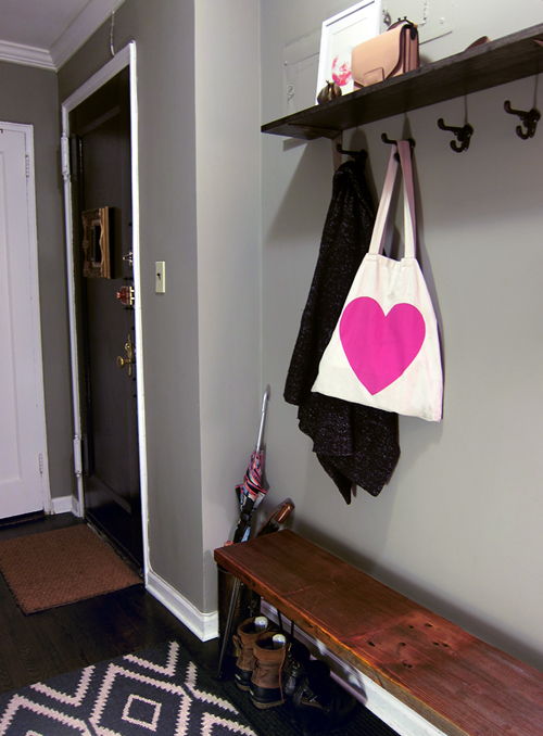 Decorating Our Foyer - << joeandcheryl.com >>