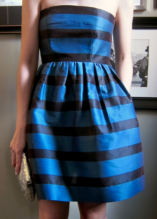Cocktail Dress - Stripes! - << joeandcheryl.com >>