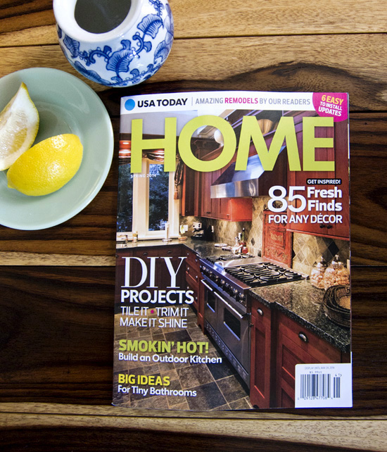 Exciting! USA Today: HOME Magazine - << joeandcheryl.com >>