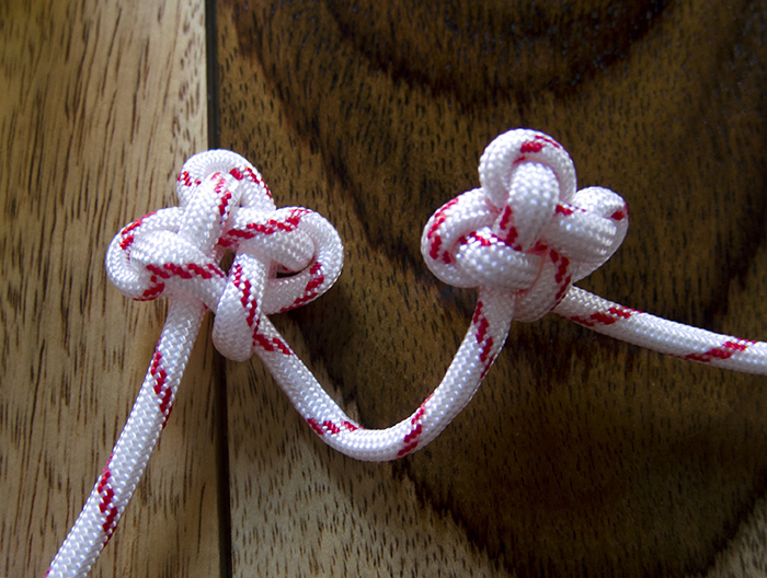 DIY Christmas Ornament Using Chinese Knotting Technique - >> joeandcheryl.com <<